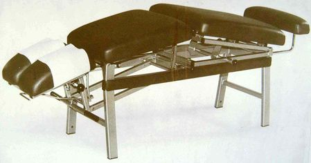 Static mainframe concept previous chiropractic table for Electro motor services hilo