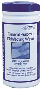 clinical wipes - alcohol free