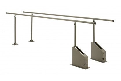Adjustable Height Rehab Walking Bars 4m
